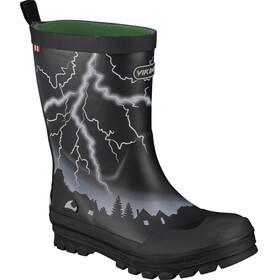 Viking Footwear Lyn Kalosze Dzieci biały/czarny